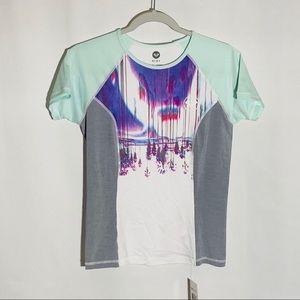 Roxy UPF 50+ shirt, 'Four Shore SS', size L, NWT